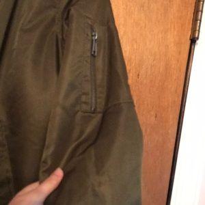 Forever 21 Jackets & Coats - Fuzzy bomber jacket